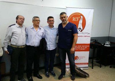 Jorge Ferreira, Gustavo Rosetti y Ricardo Turcuman
